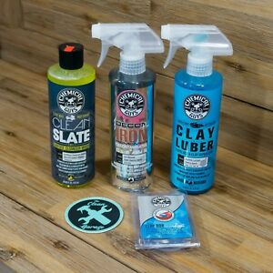 Chemical Guys Paint Decontamination Kit Wash Iron Remover Clay Bar Decon