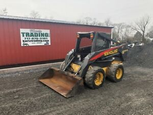 2005 New Holland Ls185 b Skid Steer Loader W 2 Speed Only 2800hrs