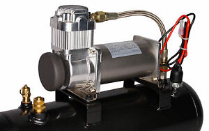 Viair 20007 380c Air Compressor 200psi On Board System Kit For Tools Train Horns