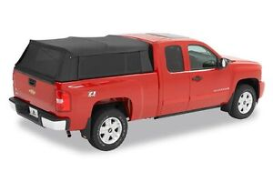 76310 35 Bestop Supertop Fabric Camper Top Silverado Sierra 5 8 Bed 2004 2017