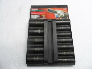 Craftsman 1 2 Drive Impact Sae Deep Socket Set Made In Usa 12 Pcs P n 15886