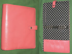 A5 1 25 Pink Faux Leather Carpe Diem Planner Simple Stories Filofax