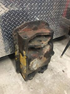 Ford 4400 Diesel Tractor Select O Speed Oil Pan Cast Iron