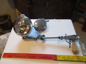 Vintage Unity Spot Light Car Hand Operated Spotlight With Mirror