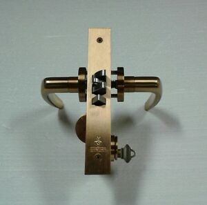 Schlage L9050 60 Series Commercial Grade 1 Mortise Keyed Entry Single Cylinder
