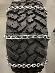 8mm Extra Thick Heavy Duty Snow Tire Chains 35x12 50r17lt 35x12 50r18lt 55 1 3