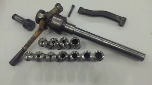 South Bend 10l Collet Closer Collets Thread Dial Indicator Misc Parts