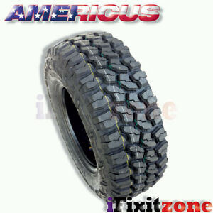1 Americus Rugged Mt 3110 50r15lt 109q C 6 All Terrain Mud Tires