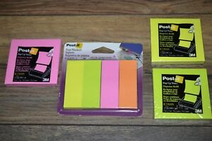 Post it Page Markers 1 X 3 50 Per Pad 4 pk 200 pk 3 100 Count Pads