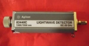 Agilent 83440c Lightwave Detector For Parts Or Repair
