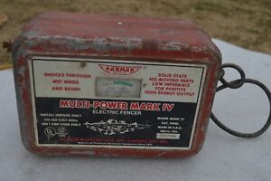 Parmak Mark Iv Fence Charger