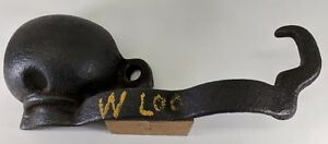 Gear Guard shield Vintage Gas Hit Miss Engine Marked Waterloo