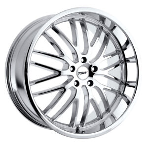 Tsw Snetterton Rim 17x8 5x4 75 Offset 20 Chrome Quantity Of 4