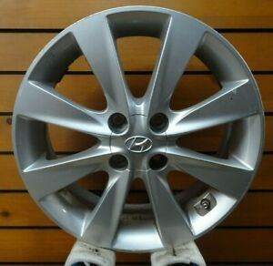 Rim Wheel 16x6 8 Spoke Alloy 12 14 Hyundai Accent 327723 70817 Used