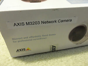 Axis M3203 Poe Dome Network Ip Surveillance Security Cctv Cam Camera