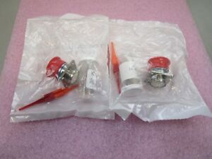 2 New Amphenol D38999 20fd18sb Connector Receptacle W Gold Contacts