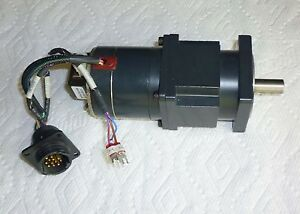 Amat Robot A3761 9215hg 5 Phase Harmonic Gear Stepper Motor encoder No 9 Used