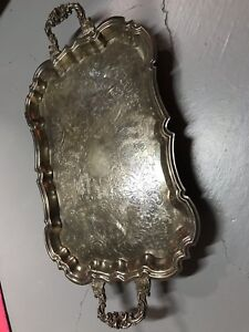 Sheridan Silver Plated Butler Serving Tray