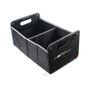 Car Trunk Organizer Folding Fold Collapsible Storage Bag Box Fit For Bmw Auto