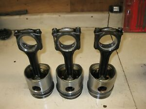 Case 188d Pistons And Connecting Rods