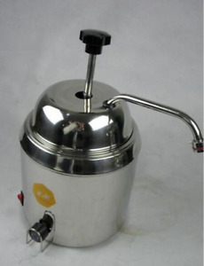 Hot Fudge Nacho Cheese Chocolate Dispenser Warmer Cheese Water Heating Machine