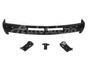 Front Bumper Black Face Bar Brackets For Suburban 2000 06 Silverado 1999 2002