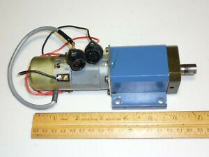 Iai Intelligent Actuator Harmonic Drive Gearhead 100 1 And 20w Servo Motor Used