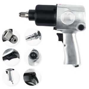 Heavy Duty Air Impact Wrench Spanner Set 1 2 750n m Pneumatic Impact 1 2 Inch