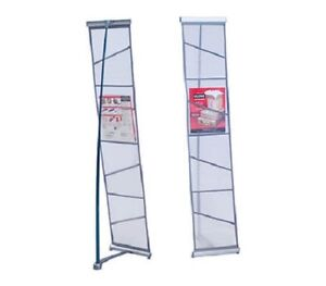 4 Pocket Mesh Single Literature Display Stand Catalog Brochure Rack Stand