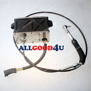 Throttle Motor 151 9326 For Cat Eecavator 318b 318bn With 6 Pins 165cm Cable
