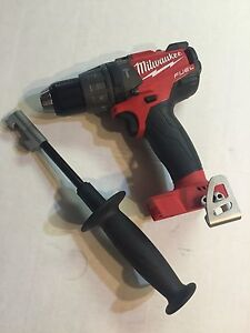 Milwaukee 2704 20 M18 Fuel Cordless Hammer Drill Bare Tool New Replaces 2604 20