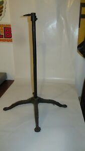 Vintage Cast Iron Dress Form Base Stand Dress Form Co Claw Feet Victorian Style