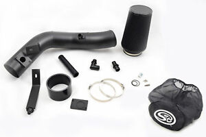 Ppf Black Oiled Cold Air Intake W S B Wrap 03 07 Ford 6 0l Powerstroke Diesel
