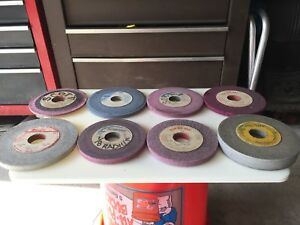 Machinist Grinding Wheel Lot