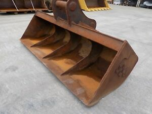 96 Inch Ditching Bucket To Suit Doosan Dx340 On 100 Mm Pins Uk Delivery Inc
