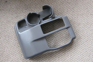 2001 Toyota Tacoma Truck Grey Floor Console Shifter Trim Dual Cup Holder Oem