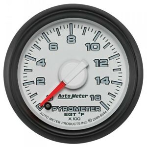 Auto Meter Factory Matched Pyrometer Kit 8544 For 0 1600 F 03 09 Dodge Cummins