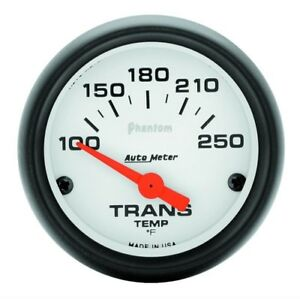 Transmission Temp Gauge 5757 100 250 Degrees Auto Meter Phantom Series