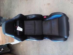 Dodge Viper Front Passenger Right Seat Bucket Leather 03 04 Blk Grey