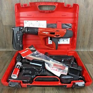 Hilti Dx 5 Kit Nail Gun Mx 72 Powder Actuated Tool Fastening 460