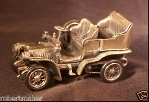 Medusa Oro Antique Sterling Silver Miniature Model T Make Me An Offer