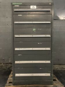 Six Drawer Cabinet 31 L X 29 W X 59 5 H
