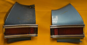 1968 Chevrolet Chevelle Malibu Left Right Tail Light Assemblies With Housings