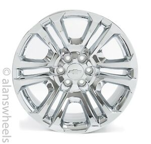4 New Chevy Suburban Tahoe Factory Oem Chrome 22 Wheels Rims Lug Nuts Ck158