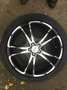 Volvo S80 S60 V70 Forte Tweasted Wheel W tpms W michelin Pilot Tires 245 40 18