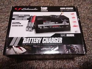 Schumacher Mc 1 6 12 Volt Manual Motorcycle Car Powersports Battery Charger