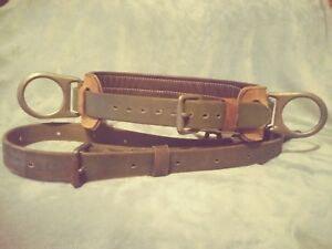 Buckingham Lineman Belt Excellent Condition Size D 24 With Safety Strap