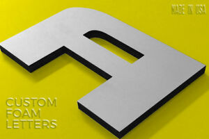 Custom Foam Letters For Outdoor Storefront Economic Signs Acrylic Face