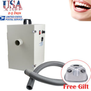 Dental Lab Single row Dust Collector Vacuum Cleaner Equipment duplicating Flasks