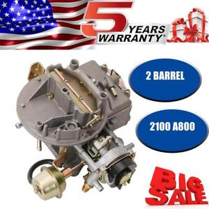 Carburetor 2bbl For Ford 2150 W Climate Choke For Many V8 Engines 302